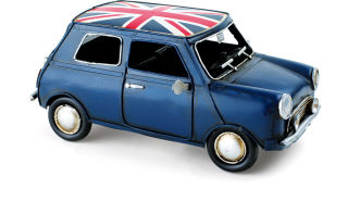 Petite voiture UK style vintage