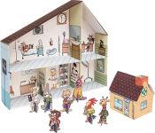 """Maison de poupée en carton """"Clinique vétérinaire"""""""