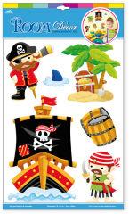 Autocollants «Pirates»