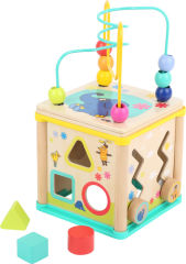 Cube d´activité avec l'élephant Die Maus