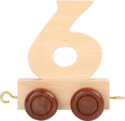 Train de chiffres 6
