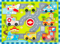 """Puzzle à poser """"Circulation de ville"""""""