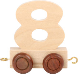 Train de chiffres 8