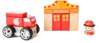 Kit de construction Pompiers avec effets sonores