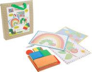 """Kit de loisirs créatifs Mosaïque """"La chenille qui fait des trous"""""""