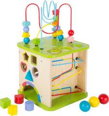 Cube de motricité avec circuit à boules