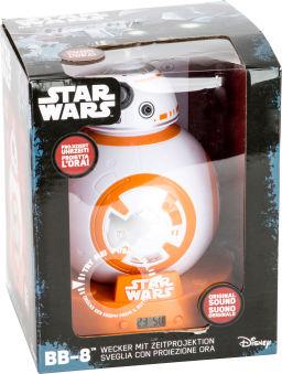 "Réveil projecteur Star Wars ""BB-8"""