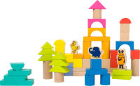 """Blocs de construction avec l'éléphant """"Die Maus"""""""