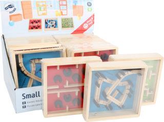 Présentoir Petit labyrinthe en bois