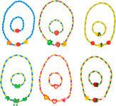 Parures de bijoux colorées