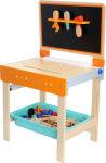 Etabli pour enfants avec table à dessin