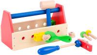 Boîte à outils colorée