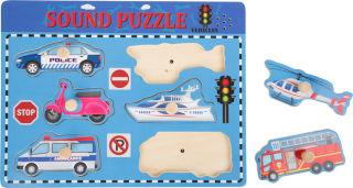 Puzzle sonore Automobiles