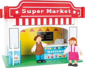 Monde de jeu Supermarché et ses accessoires
