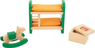 Meubles de maison de poupée Chambre d'enfant