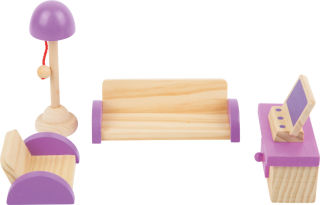 Meubles de maison de poupée Salon