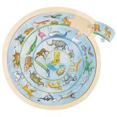 Puzzle - La ronde des animaux
