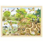 Puzzle, découverte de la nature