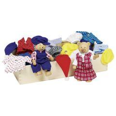 Garde-robe pour ours, boîte de vêtements, Benna & Bennoh
