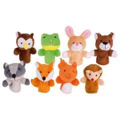 Marionnettes à doigts, animaux de la forêt