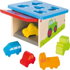 Boîte à formes, véhicules