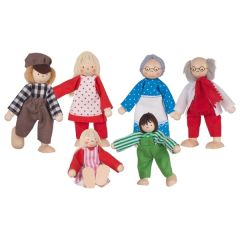 Famille, poupées articulées I