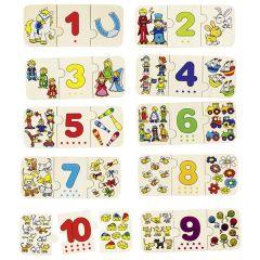 Puzzle Chiffres et associations d'images