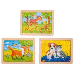 Puzzle, l'amitié des animaux