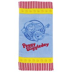 Serviette magique, Peggy Diggledey
