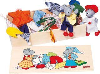 Garde-robe des souris, boîte de vêtements, Lia & Luca