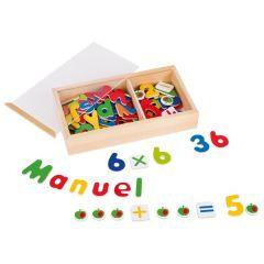 Aimants alphabet et chiffres