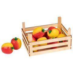 Pommes dans une cagette