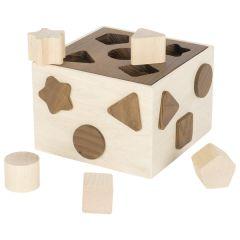 Boîte à formes, goki nature