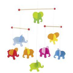 Mobile, éléphants