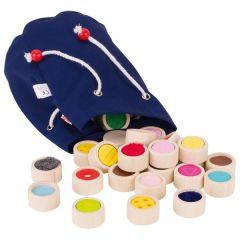 Mémo tactile des surfaces dans le sac