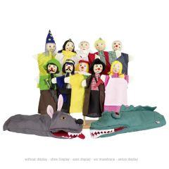 Assortiment de marionnettes - Set 1