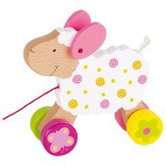 Animal à tirer mouton Suse, Susibelle