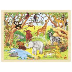 Afrique, puzzle