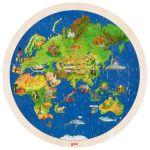 Puzzle globe terrestre