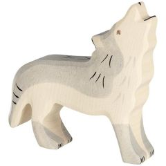 Loup, hurlant