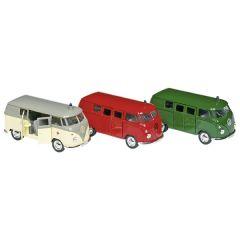 Volkswagen Microbus (1963), en métal, 1:34-39, L=11,5cm