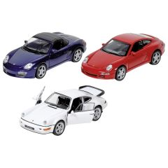 Porsche en métal, 1:34-39, L= 11,5 - 12 cm
