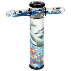 Kaléidoscope avec baguette magique dauphin