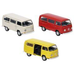 Volkswagen Bus T2 (1972), en métal, 1:34-39, L= 11,3 cm