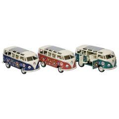 Volkswagen Microbus, en métal, 1:24, L= 17,8 cm,