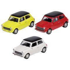 Mini Cooper 1300, en métal, 1:60, L= 6,7 cm