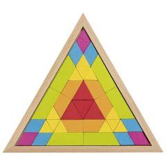 Jeu de mosaïque triangle