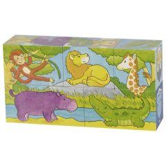 Puzzle de cubes Savane et banquise