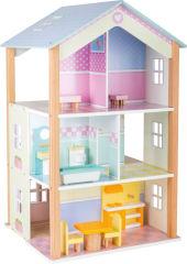 Maison de poupée Palais à 3 étages, tournante