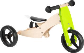 Tricycle-Draisienne Trike 2 en 1 Vert